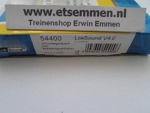 54400: ESU LokSound V4.0 DCC/MM/SX NEM652