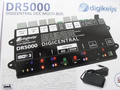 DR5000: Digikeijs Digicentrale DCC Multi-bus